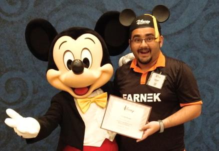 Farnek adopts Disney quality standards for customer service
