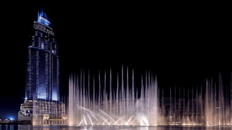 An insight into the world's tallest performing fountain