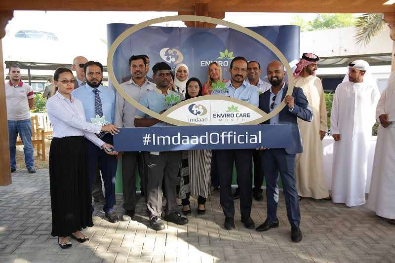 Imdaad's 'envirocare month' campaign concludes with 40% increase in recycled material