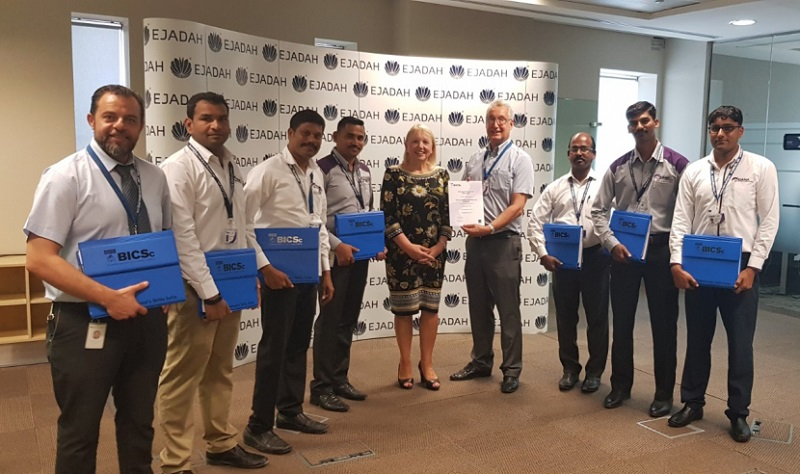 Ejadah maintains its BICS's, upgrades its ISO's and wins ESCO energy certification