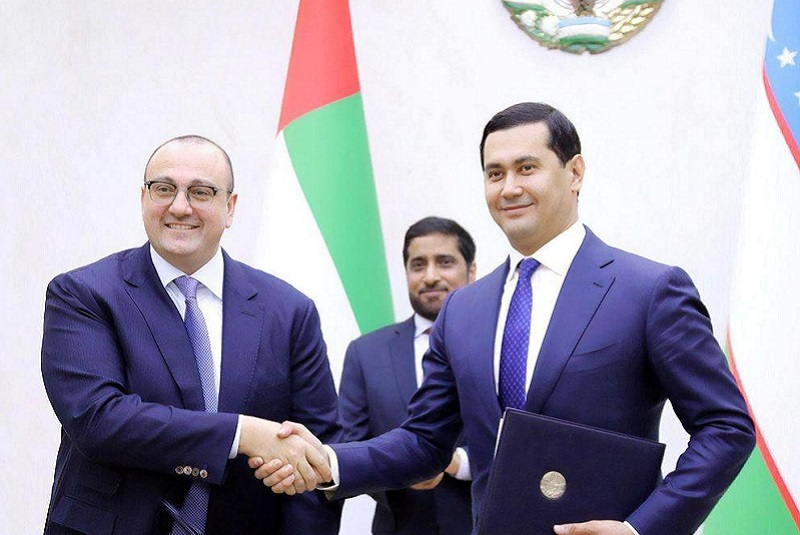 Masdar agrees to design, finance, build and operate Uzbekistan's first solar power plant