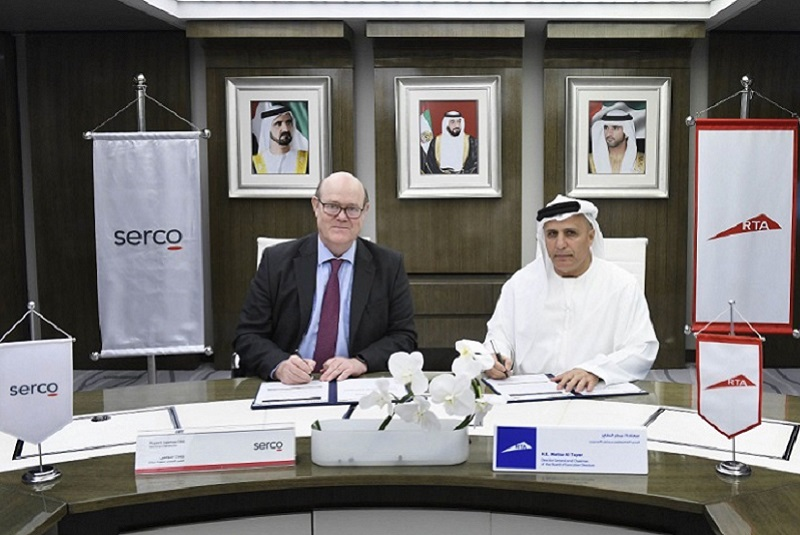 RTA renews Dubai Metro Operation & Maintenance Contract with Serco until 2021