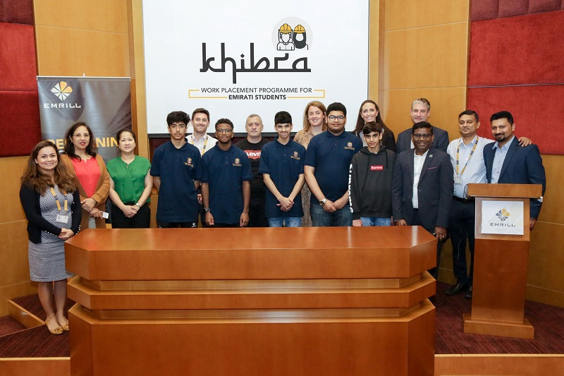 Emrill launches work placement programme for Emirati students