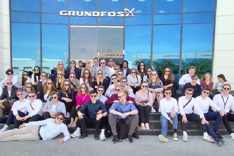 Danish students visit Grundfos Dubai to seek inspiration on sustainable business practices