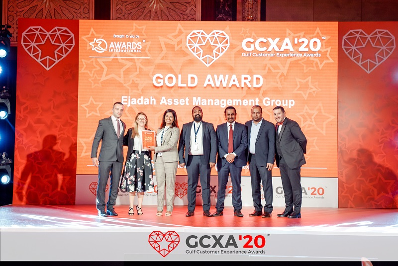 Ejadah wins two awards at the Gulf Customer Experience Awards 2020