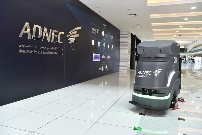 ADNEC invests in industrial autonomous cleaning robot