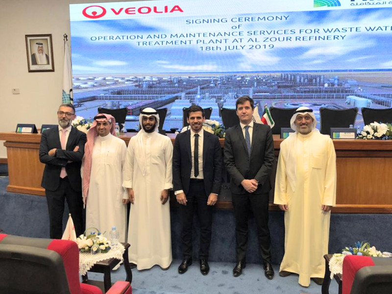 Veolia bags new industrial contract in the Middle East