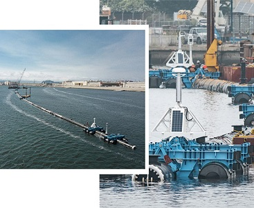 The Ocean Cleanup chooses Iridium