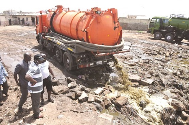 Ghana waste management company introduces scientific approach to liquid waste management