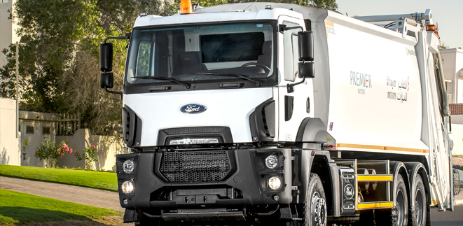 Ford Trucks technology offers added value for waste management