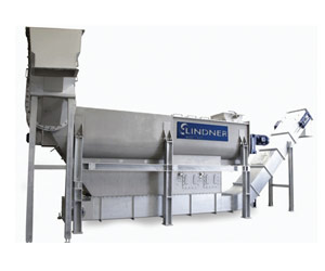 Lindner's new Rafter for efficient pre-washing of post-consumer plastics