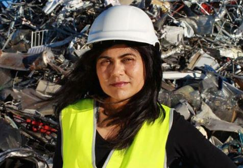 """Our team's work on sustainable materials over a decade ago led to the commercialisation of the world's first 'green steel' manufacturing process:"" Prof. Veena Sahajwalla"