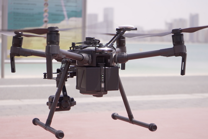 Dubai Police use drones to reinforce coronavirus precautionary measures