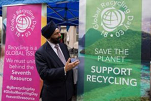First ever Global Recycling Day celebrated successfully