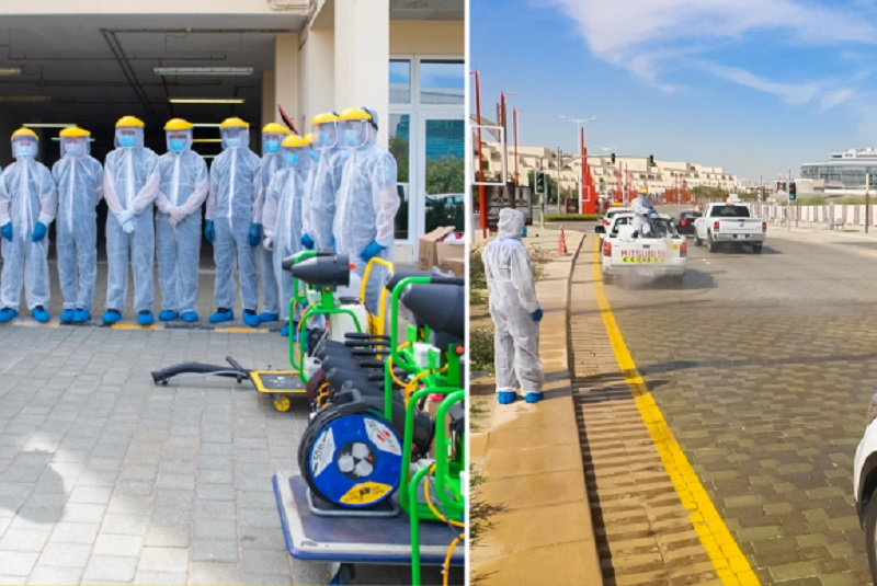 ServeU and Edacom carry out sanitisation in Motorcity