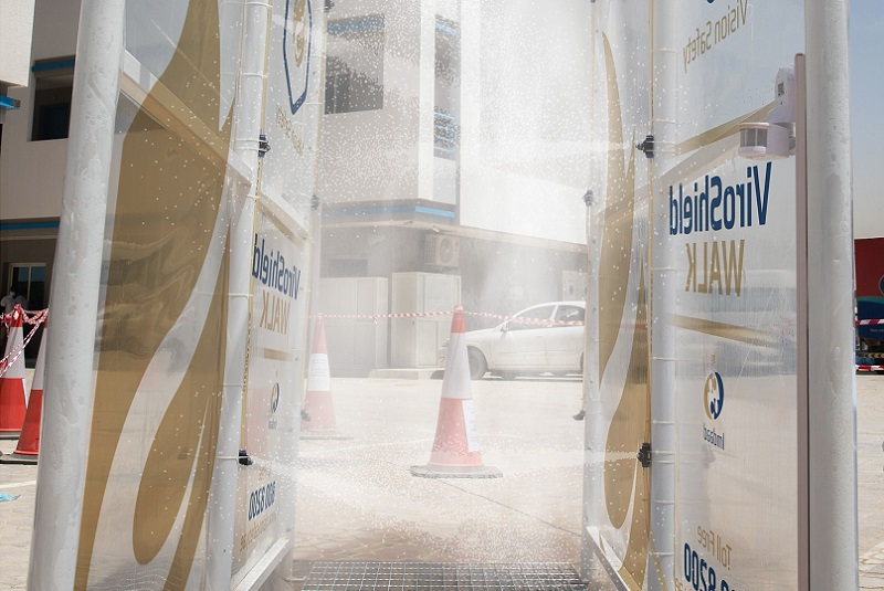 Imdaad unveils 'ViroSheild by Vision Safety' disinfection tunnel