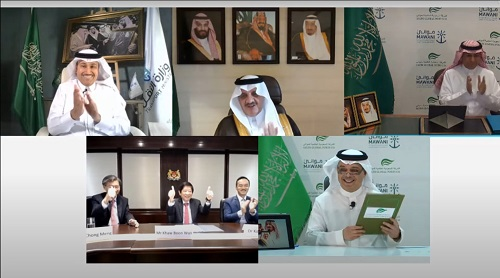 MAWANI & SGP sign remotely the largest single BOT agreement in Kingdom with investments of SR 7 billion