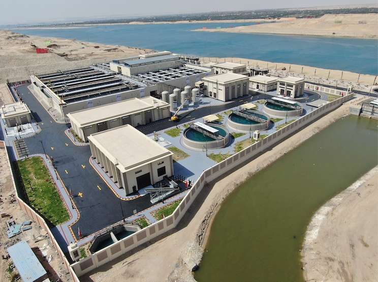 Egypt builds world's biggest agricultural drainage treatment, recycling and reuse plant