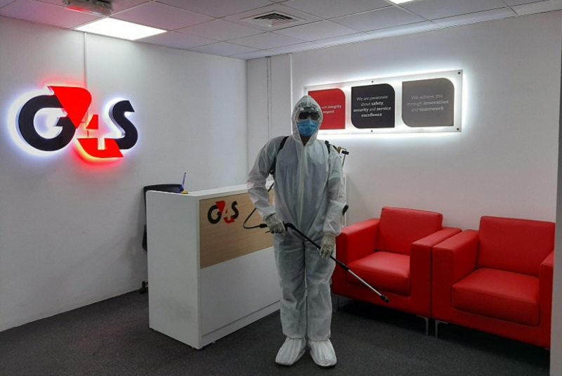 G4S adds disinfection and sanitation as part of its services to tackle COVID-19