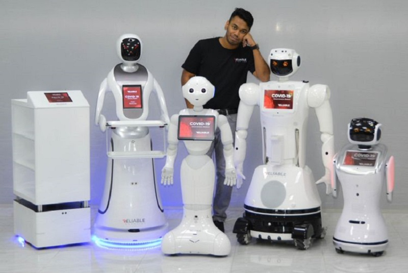 UAE-firm launches robot fleet to combat coronavirus
