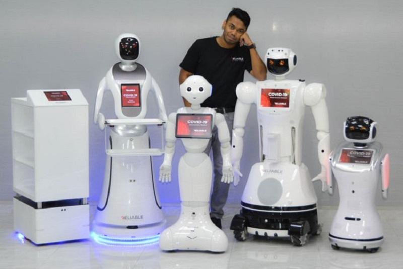 UAE-firm launches robot fleet to combat coronavirus