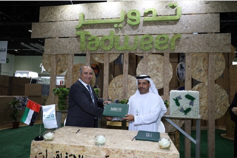 Tadweer achieves 3.10% reduction in total waste in 2019