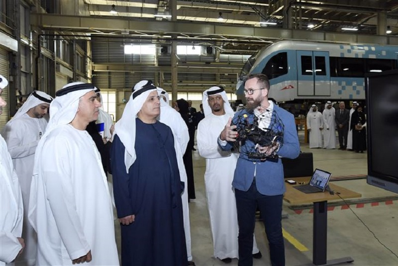 RTA starts drone trials to inspect Dubai Metro tunnels