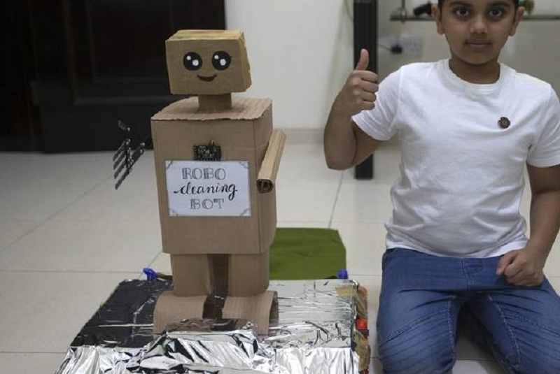 UAE-based whiz kid's eco-robot to be showcased at Expo 2020