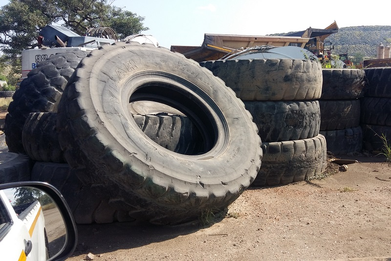 A look at scrap tyre recycling in South Africa