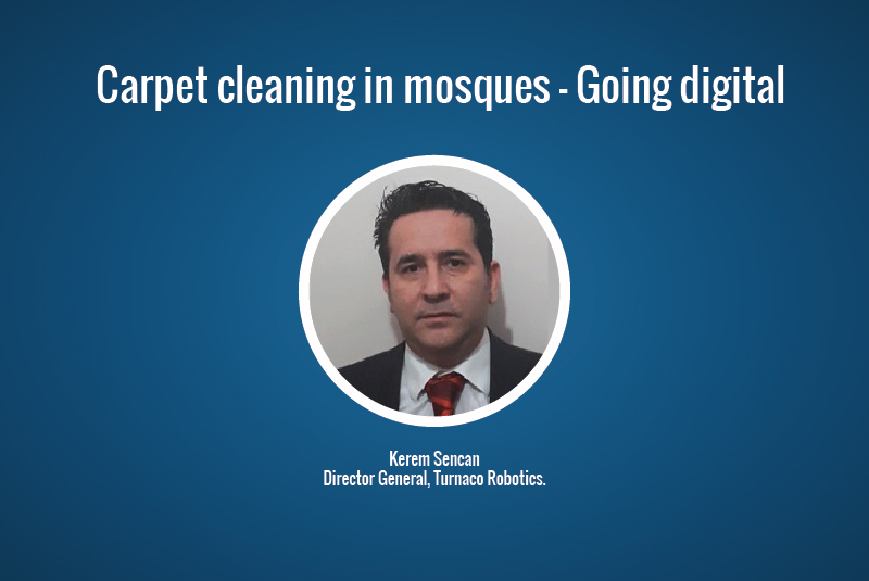 Carpet cleaning in mosques - Going digital