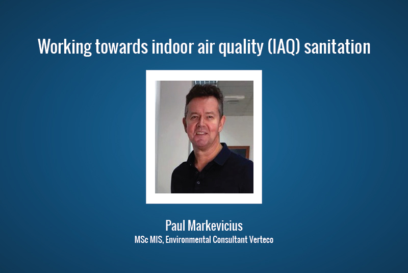 Working towards indoor air quality (IAQ) sanitation
