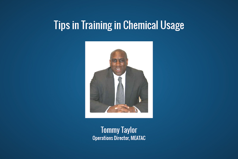 Tips in Training in Chemical Usage