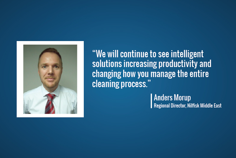 Interview: Anders Morup, Regional Director, Nilfisk Middle East