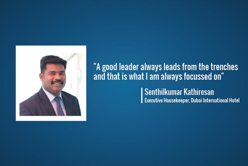 One-on-One: Senthilkumar Kathiresan, Executive Housekeeper, Dubai International Hotel
