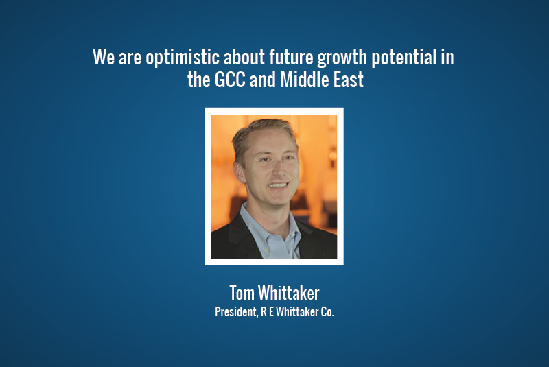 We are optimistic about future growth potential in the GCC and Middle East.
