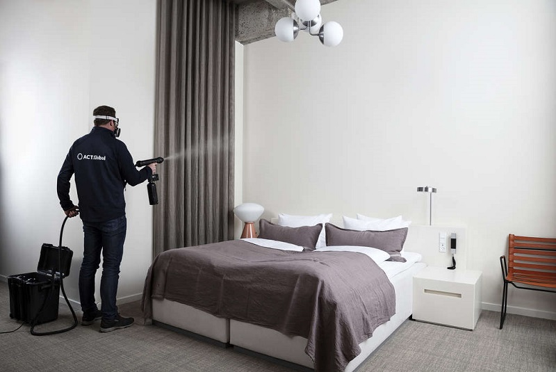 Mood Media launches suite of advanced germicidal protection and cleaning offerings for hotels and other businesses
