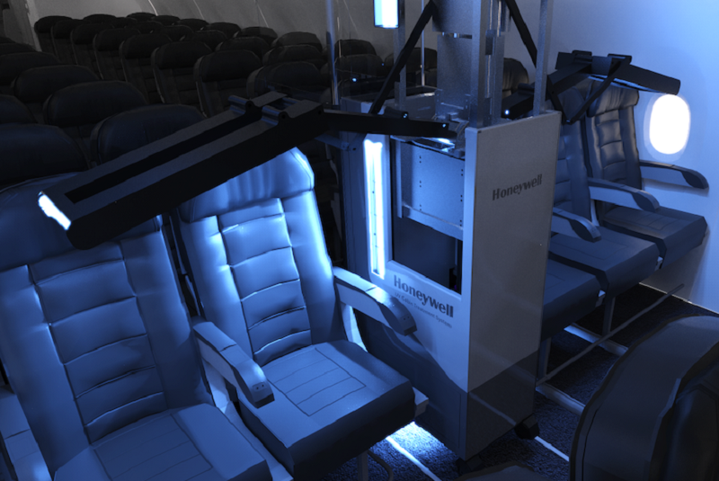Honeywell to introduce 'Fast' ultraviolet cleaning system for airplane cabins
