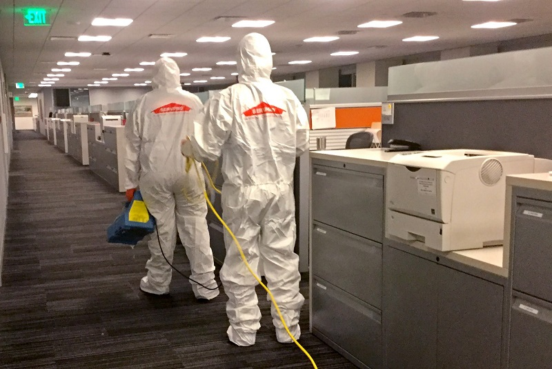Health experts caution over disinfectants, cleaning methods used in rush to reopen