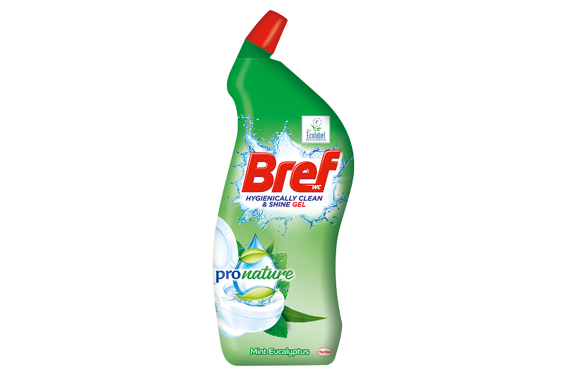Greiner Packaging produces toilet cleaner bottles for Henkel using 50% recycled material
