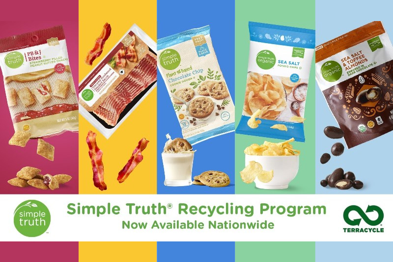 Kroger launches recycling programme for Simple Truth products