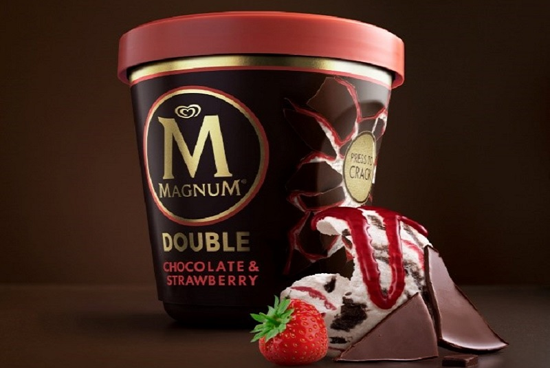 Magnum launches new tubs made with recycled plastic from Sabic's TRUCIRCLE portfolio