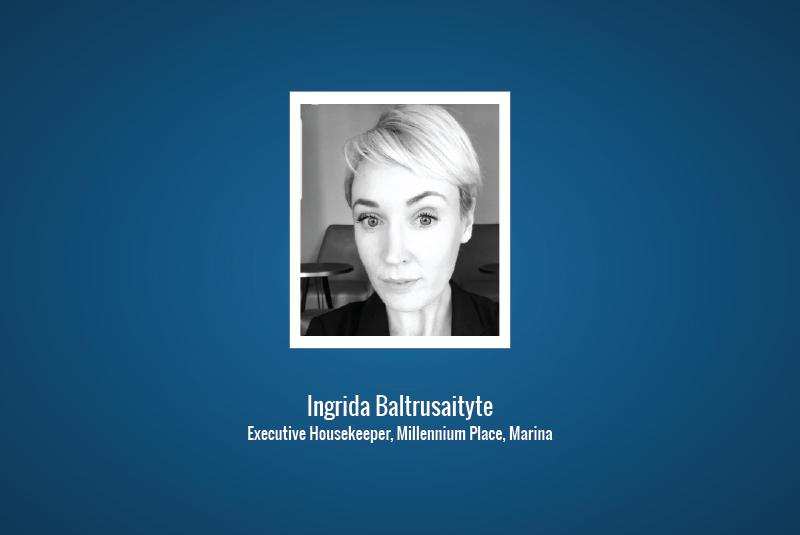 One-on-One: Ingrida Baltrusaityte, Executive Housekeeper, Millennium Place, Marina