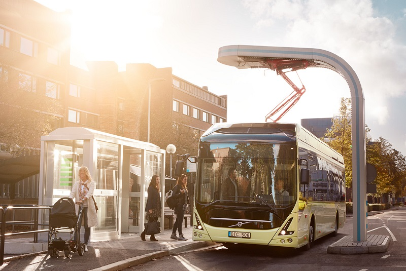 Volvo, Stena subsidiary Batteryloop cooperate to give bus batteries a second life