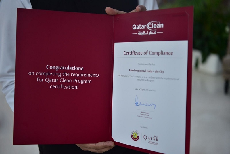 "Qatar inaugurates ""Qatar Clean"" program for tourism sector"