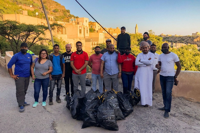 120kg of waste cleaned by Anantara Al Jabal Al Akhdar resort