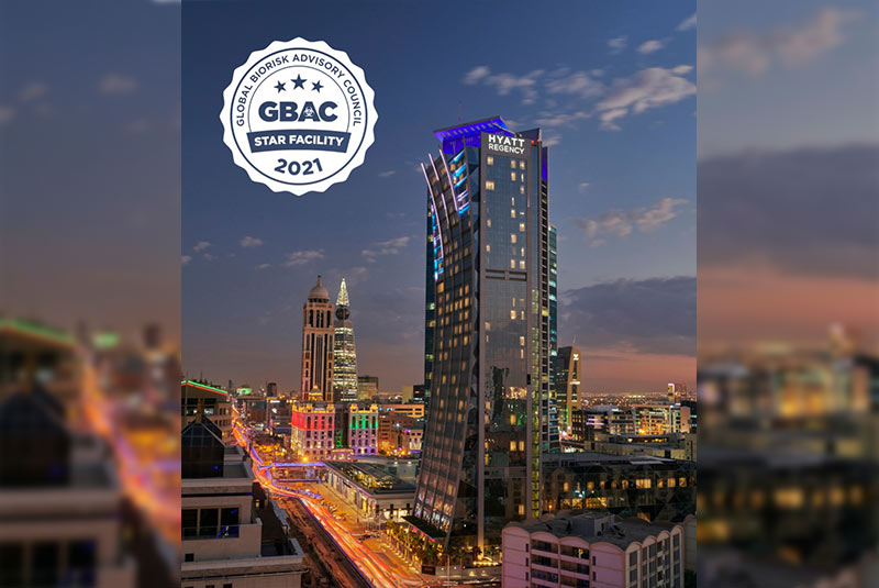 Hyatt Regency Riyadh becomes one of the first hotels in the Middle East to be accredited by GBAC