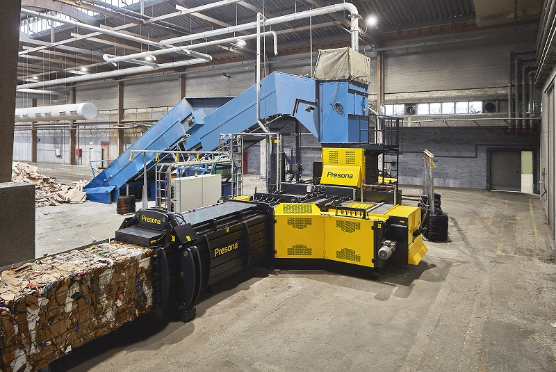 The new MP 270 MH makes recycling cheaper