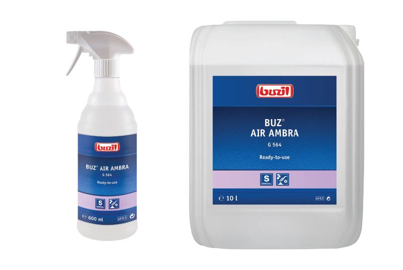 Buzil expands its fragrance portfolio with Buz® Air Ambra G 564