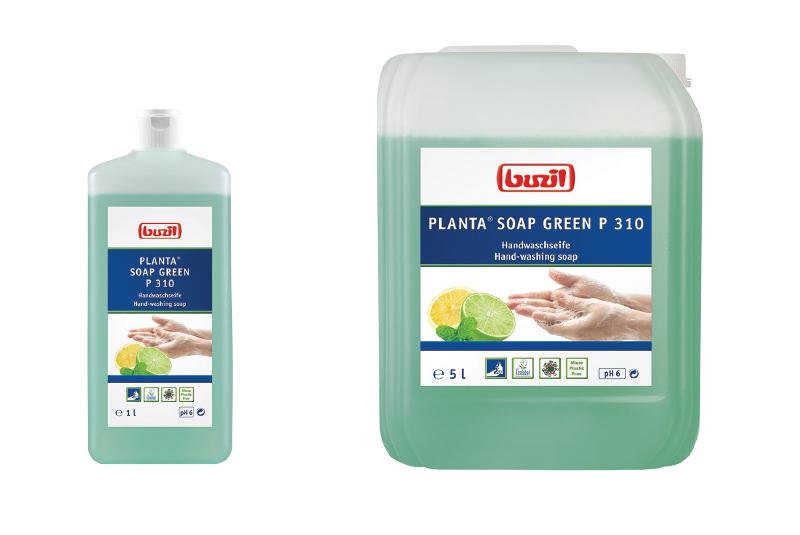 Buzil presents Planta® Soap Green P 310, the sustainable soap