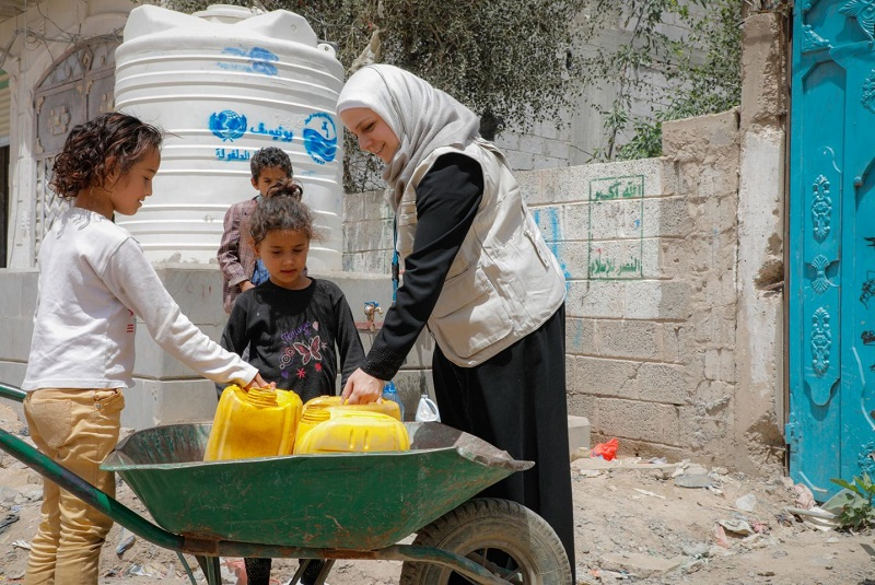 WHO and KSRelief work together improve water, sanitation and hygiene (WASH) services in Yemen